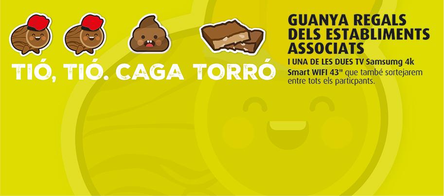 CAGA TIÓ, CAGA REGALS
