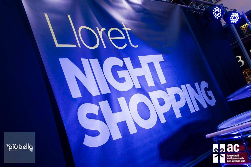 Esdeveniments del Lloret Night Shopping - Primavera 2017